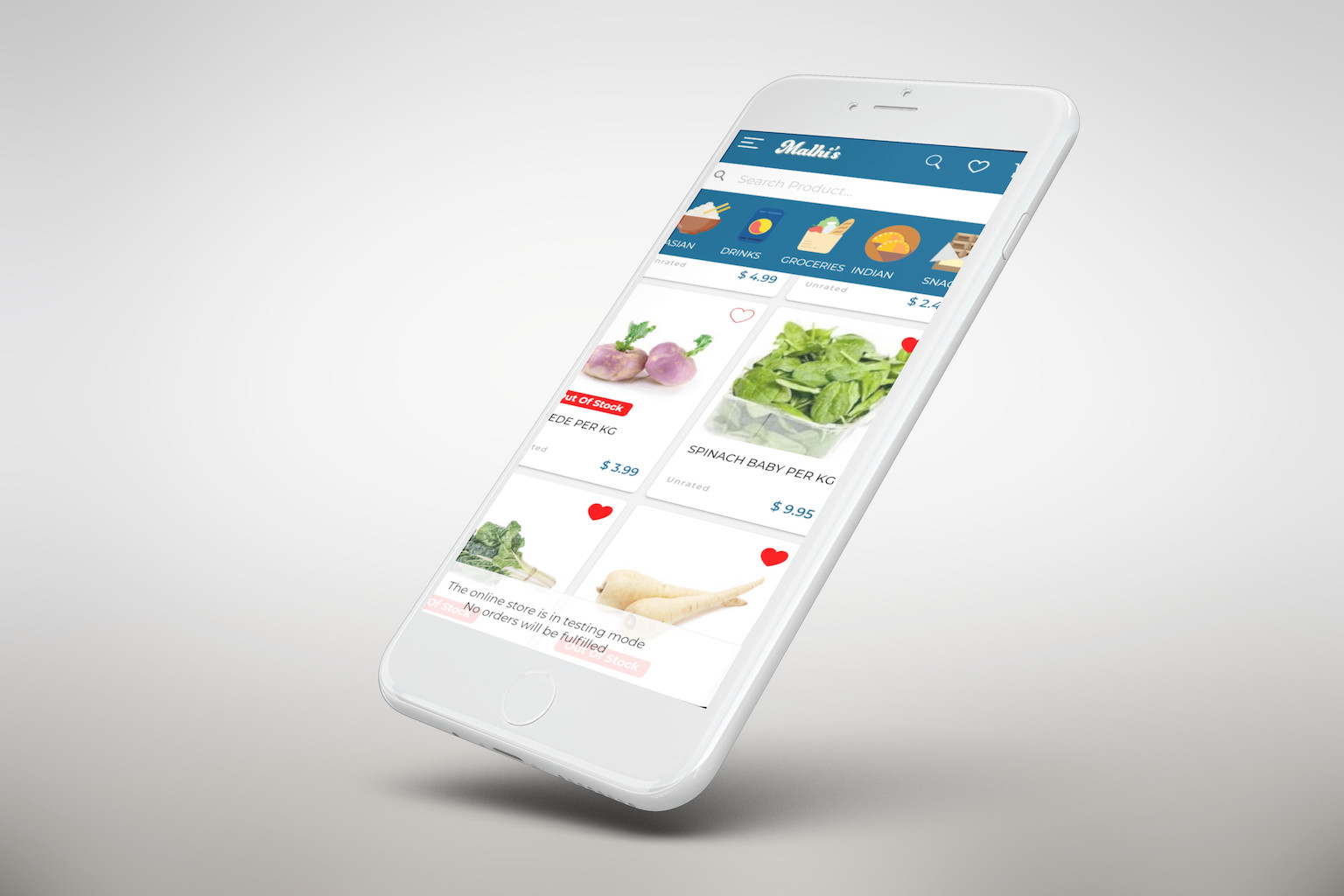 Malhi's Market App - KarBec IT Services